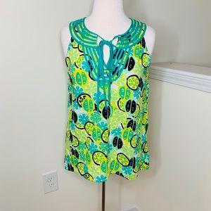 🎉5 for $25🎉 Crown & Ivy Lemon Lime Tank